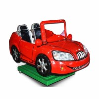 Super Red Car Kidde Ride